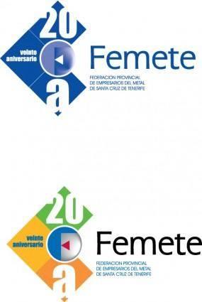 20 Aniv-Femete logo