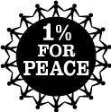free vector 1 percent for peace logo