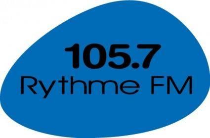free vector 105-7 Rythme FM