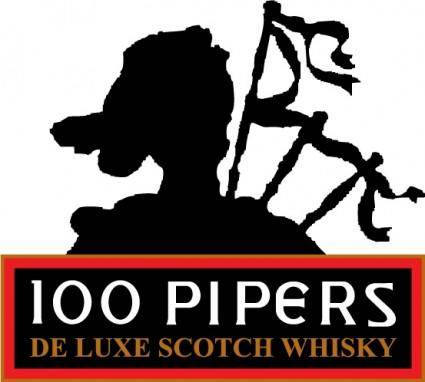 free vector 100 Pipers logo