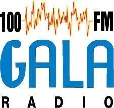 free vector 100FM Gala radio logo