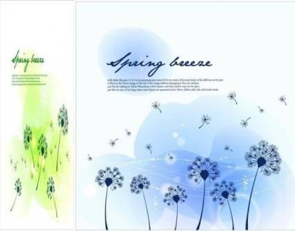free vector Seasonal changes landscape illustrator vector 3