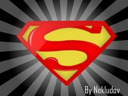 free vector Superman