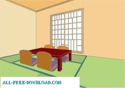 Vector room 065