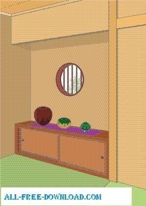 Vector room 066