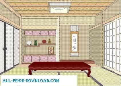 Vector room 073
