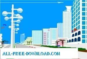free vector Free City Vector