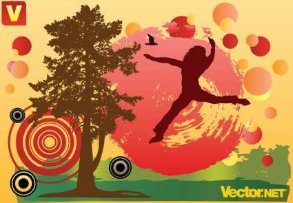 free vector Free autumn fun vector