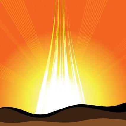 free vector Upcoming Sun Vector