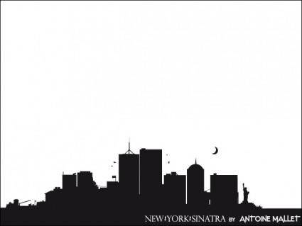 free vector New York Sinatra