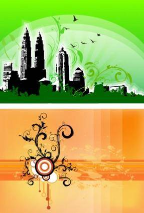 free vector Free Swirls Compositions