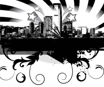 free vector City Skyline Vector