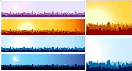 free vector City landscape