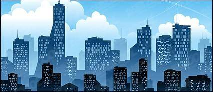 free vector Modern city