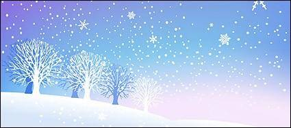 free vector Snow winter