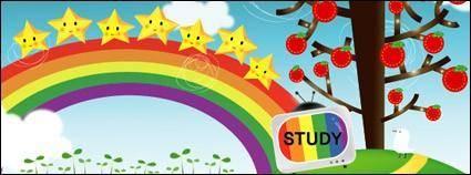 free vector Rainbow