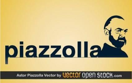 free vector Astor Piazzolla Vector