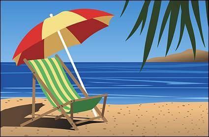 free vector Beach chair