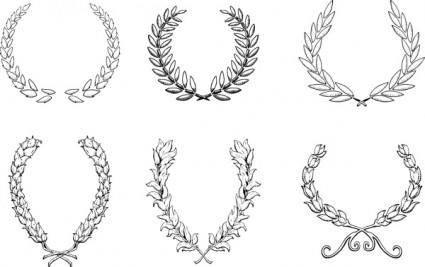 free vector Fashion Ornaments 07