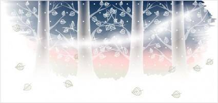 free vector Winter Banner