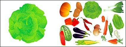 free vector Vector fruits and vegetables