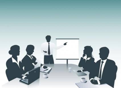 free vector Business Presentation