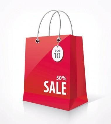 free vector Shopping bags 03 vector