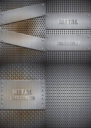 free vector Realistic steel vector