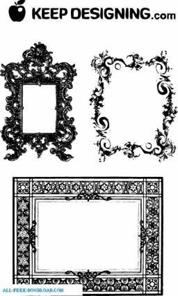 free vector Fancy Frames  Ornate Borders