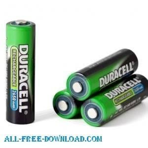 free vector Batteries
