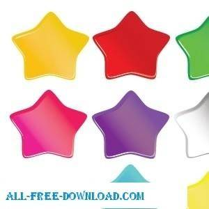 free vector Soft Stars