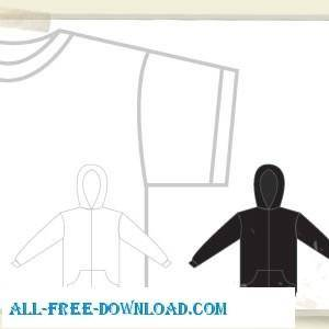 free vector T Shirt And Sweatshirt