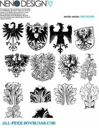 free vector Ornamnet Vectors