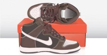 Sneakers free vector