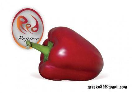 free vector Red Pepper