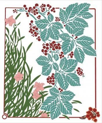 free vector Floral illustration