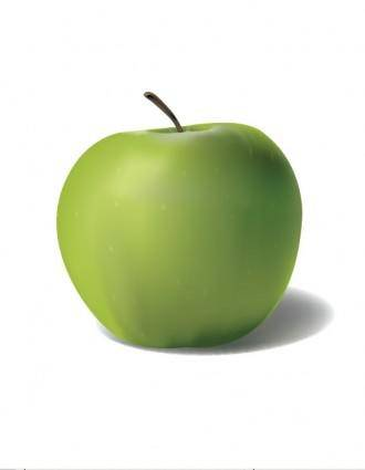 free vector Green Apple