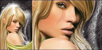 free vector Magic beauty women