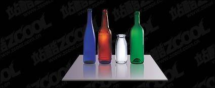 Multi color bottles