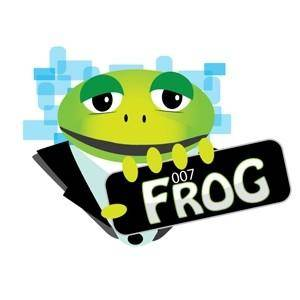 free vector 007 Frog