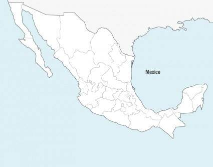 free vector Mexico Map Vector