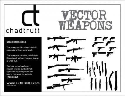 free vector Weapons