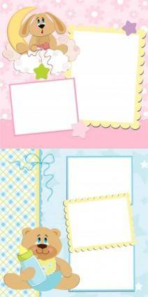 free vector Cute cartoon stationery vector