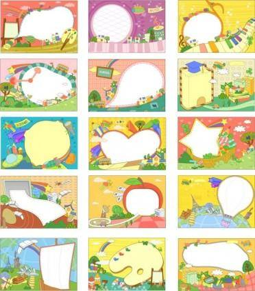 free vector South korea largest collection of cartoon fantasy 6777