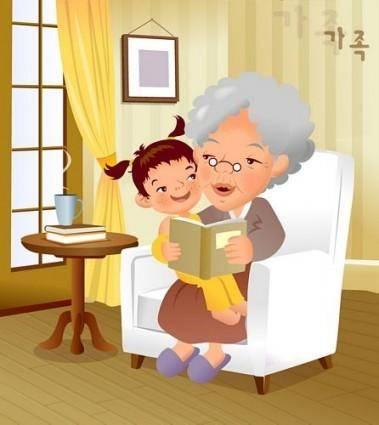 free vector Iclickart cartoon illustration vector 11 family