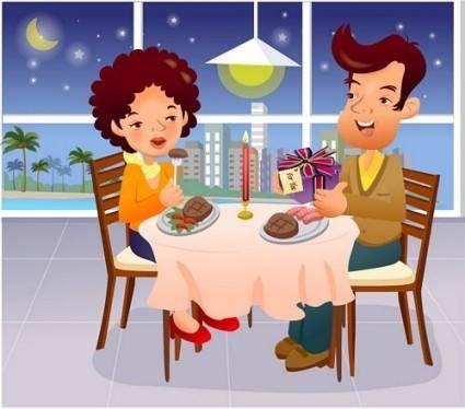 free vector Iclickart cartoon illustration vector 16 family