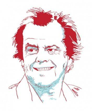 free vector Portrait of Jack Nicholson