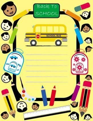 free vector Cartoon children drawings vector