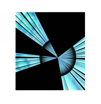 free vector Blue Target