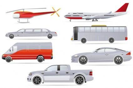 free vector Cartoon transport vector